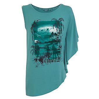Jockey kvinnor blå safir Paradise T-Shirt