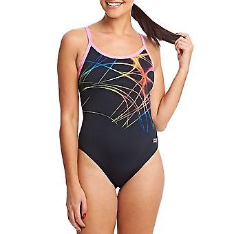 Zogg naisten liekki Sprintback yksiosainen uimapuku uida uimapuku