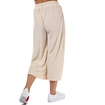 Womens adidas Originals Styling Complements Ribbed Pants In Linen