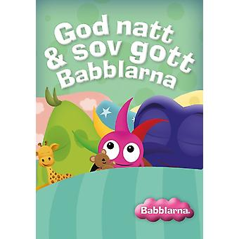 Babblarna-DVD good Night & slept well Babblarna