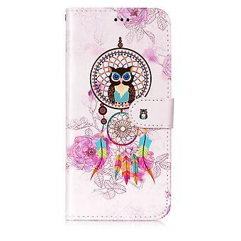 Samsung Galaxy S9 Plus Plånboksfodral - Owl Dream Catcher
