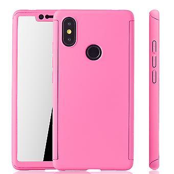 Xiaomi mi 8 SE fall telefon täcka skyddande fodral 360 Fullcover Armor Edide