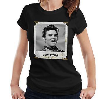 King Polaroid Elvis Presley naisten t-paita