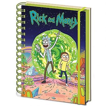 Rick And Morty Notebook