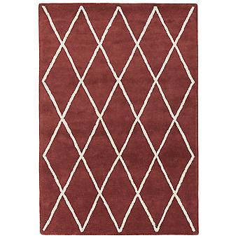 Tapis Diamond Albany en Berry