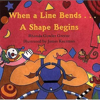 Wenn eine Linie Kurven... beginnt eine Form