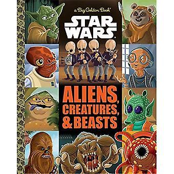 Den stora gyllene boken av utlänningar och varelser (Star Wars) (stora gyllene bok)