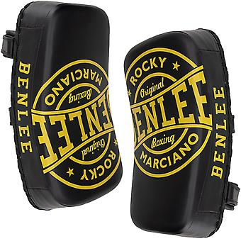 William Rocky Marciano Thai kick pads unisex - adult Black Yellow