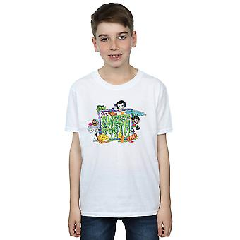 DC Comics ragazzi Teen Titans Go Sweet Tooth t-shirt