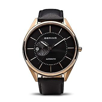 Bering Analog automatic men's watch with leather 16243-462