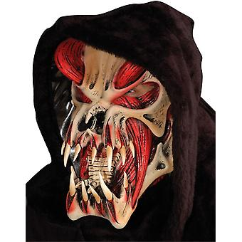 Predator rød maske For Halloween