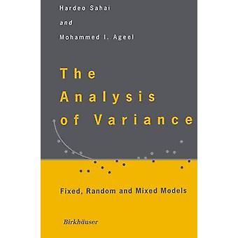 Analyse av varians fast tilfeldige og blandede modeller av Sahai & Hardeo