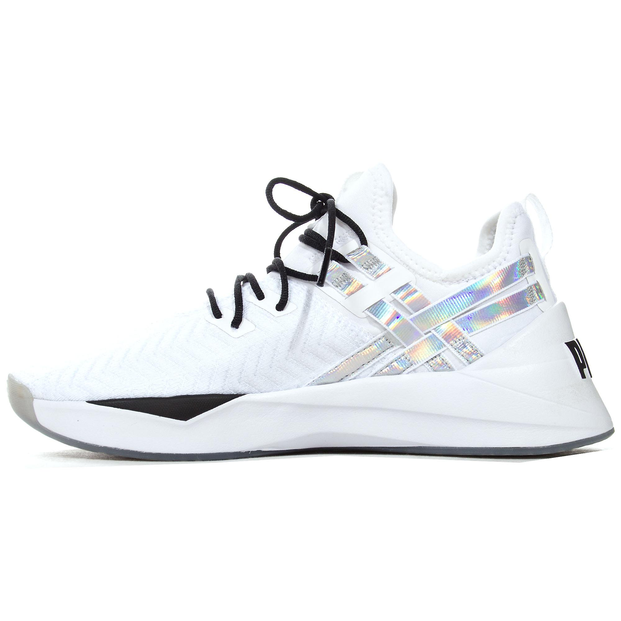Puma Jaab XT Iridescent Trailblazer Womens Fitness Trainer White/Black