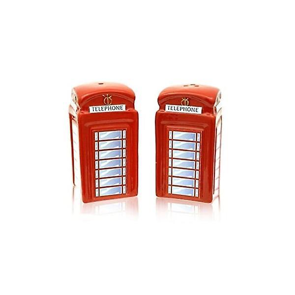 Union Jack Wear Telephone Box Salt And Pepper