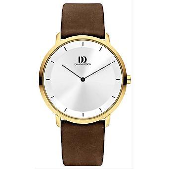 Danish Design Tidlos Anholt Large Watch-Silver/Black