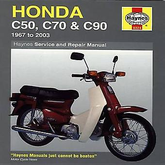 Honda C50 - C70 and C90 Service and Repair Manual - 1967 to 2003 (10th