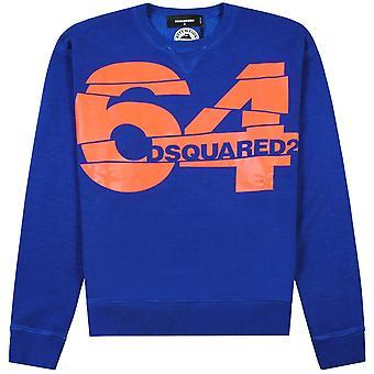 Dsquared2 64 Graphic Print Sweatshirt