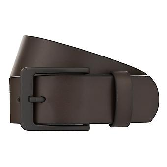 MONTI ATLANTA Belt Men's Belt Leather Belt Brown 8033