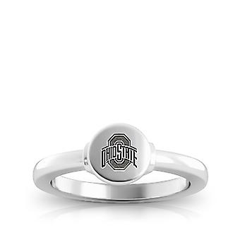 The Ohio State University Engraved Sterling Silver Signet Ring