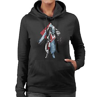 Assassins Creed Deconstruct Ezio Women's Hooded Sweatshirt