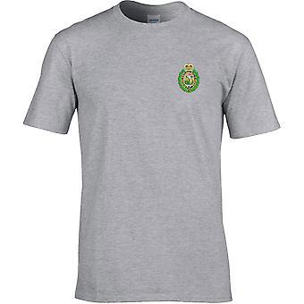 Royal regiment of Fusiliers Crest-lisensiert British Army brodert Premium T-skjorte