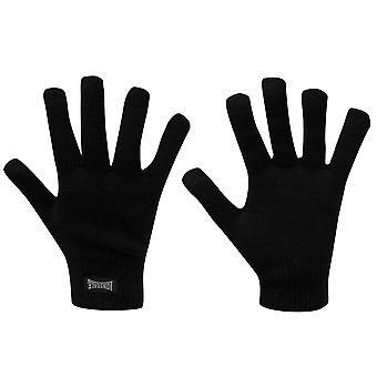 Lonsdale Mens Knitted Gloves