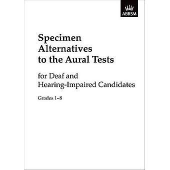 Caractéristiques alternatives aux tests aurals pour les Sourds et les entendants