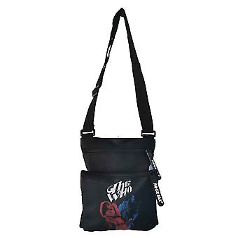 The Who Crossbody Bag My generation Classic Band Logo new Official Black