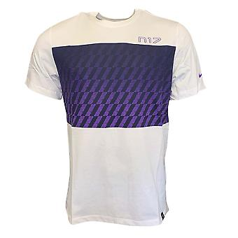 2019-2020 Tottenham Nike Travel Crest Tee (wit)