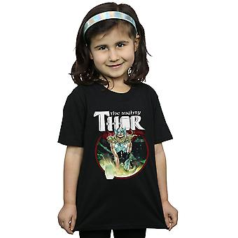 Marvel Girls The Mighty Thor Poster T-Shirt