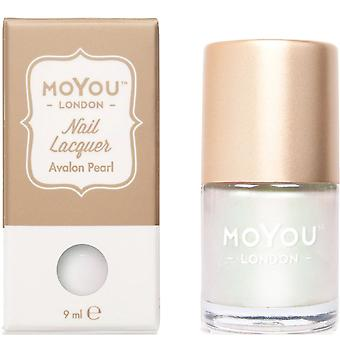MoYou London Stamping Nail Lacquer - Avalon Pearl 9ML (MN138)