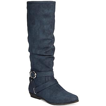 Cliffs by White Mountain Womens Fairfield Almond Toe Knee High Fashion Boots