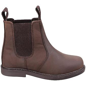 Amblers Childrens/Kids Pull On Ankle Boots