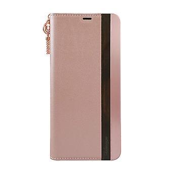 Pink Metal & Genuine Wood Samsung Galaxy S8 + Case