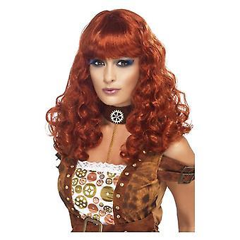 Womens Steam Punk parrucca costume accessorio
