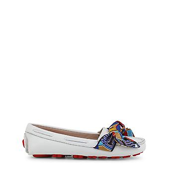 Love Moschino Women White Moccasins -- JA10472304