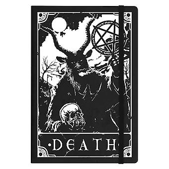 Deadly Tarot Death A5 Hard Cover Notebook