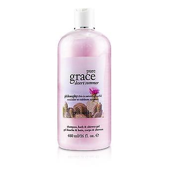 Philosophy Pure Grace Desert Summer Shampoo Bath & Shower Gel - 480ml/16oz