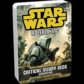 Star Wars Roleplaying Card Game-deck de lesões críticas-personagens