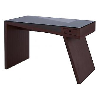 Gillmore Walnut Veneer Angular Console Desk