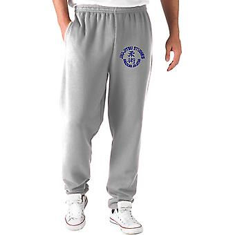 Grey tracksuit pants wtc1290 jiu jitsu studies