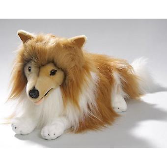 BIColini liggende Collie knuffel hond 45  cm