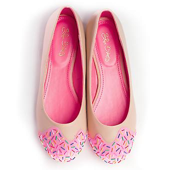 Strawberry Scented Jimmie Sprinkle Flats