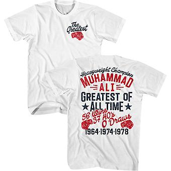 American Classics Muhammad Ali The Greatest Glove T-Shirt - White