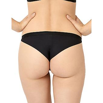 Miss Sans Complexe 31PAE82 Women's Secrète Idylle Black Knicker Panty Tanga