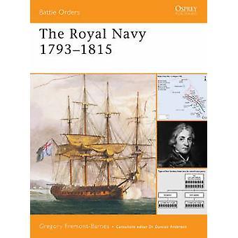 Kuninkaallinen laivasto 17931815, kirjoittanut Gregory FremontBarnes