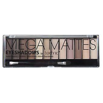 TECHNIC Mega Mattes oogschaduw 12 kleuren