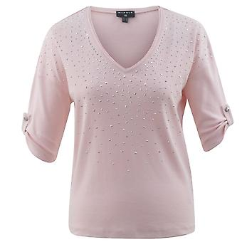 MARBLE Marble Pink Or Teal T-shirt 5661