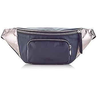 s.Oliver (Bags) 2017232 Woman Cross-body bagGrey (Grey/Black) 8x15x34 Centimeters (B x H x T)