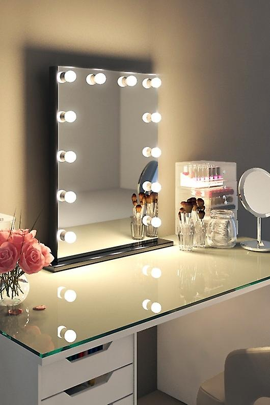 RGB Lucienne Black Edge Mirror (Moyen) k112MCWrgb